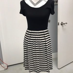 Boutique black/ white dress